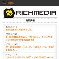 Rich Media MobileSite